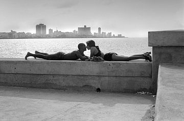 Cuba, Havana Malecon Lovers van