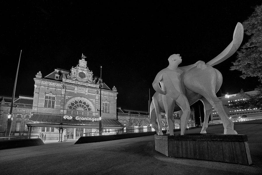 Groningen Station van Peter Bolman