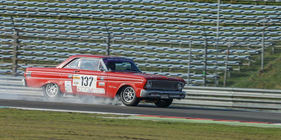 Een oude Amerikaanse racecar