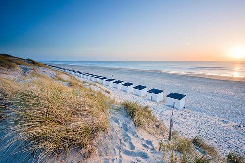 Texel, het strand bij Paal 17
