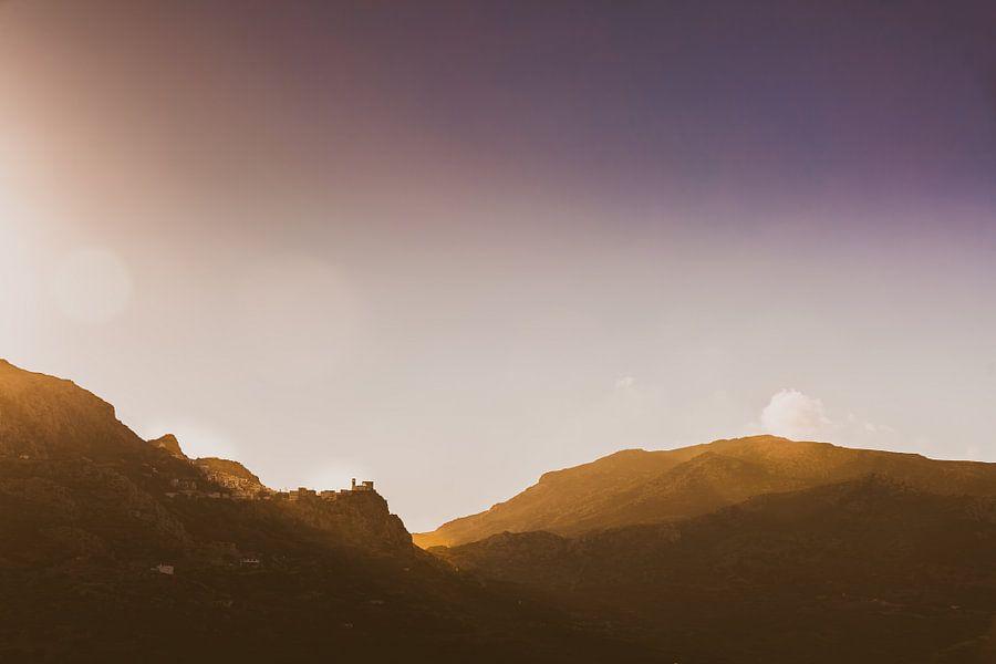 Karpathos bergen van Andy Troy