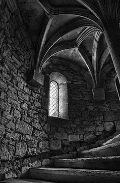 Trap opgang middeleeuws kasteel  van Jelte Bosma