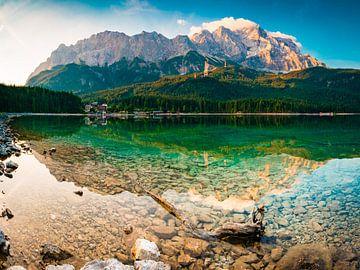 Wettersteingebirge und Zugspitze