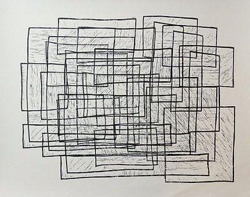 drie vormen door elkaar van