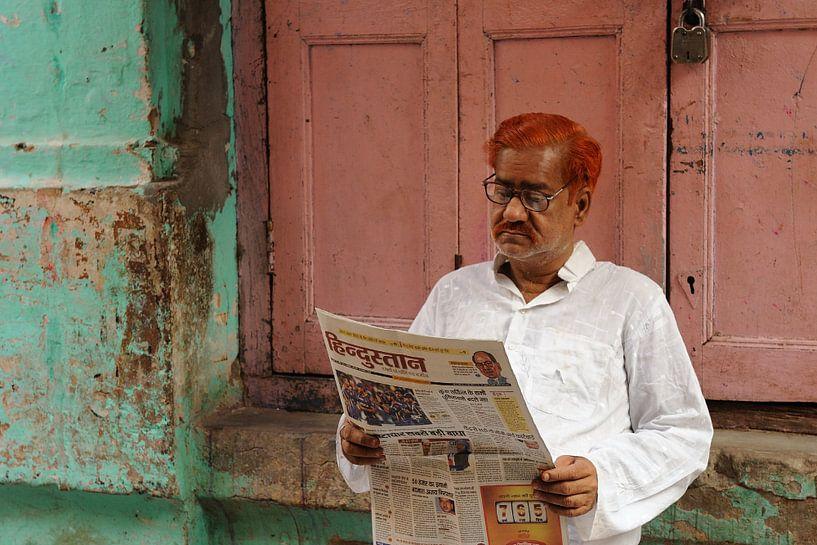 Man in India van Gonnie van de Schans