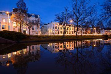 Maliesingel in Utrecht tussen de Herenbrug en de Maliebaan sur Donker Utrecht