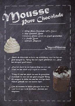 Dessert Recept - Chocolade mousse van JayJay Artworks