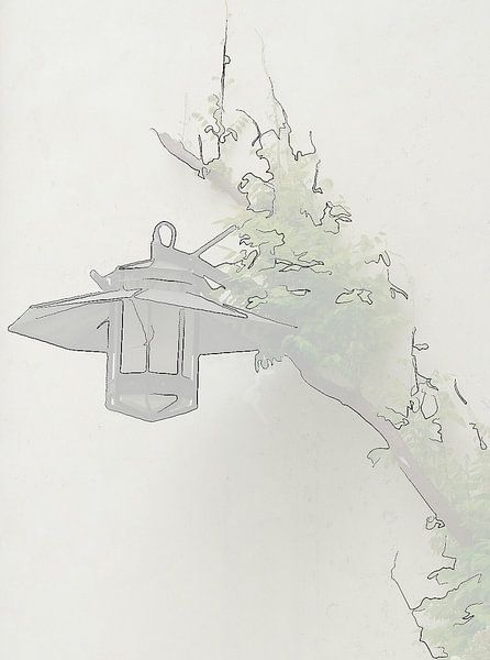 alte Laterne von Thea Ulrich / UtheasArt