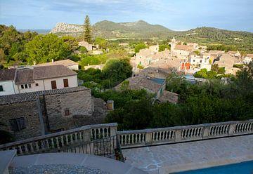 Uitzicht op Randa (Mallorca) van t.ART