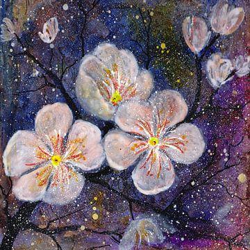 Blütenzweig von Christine Nöhmeier