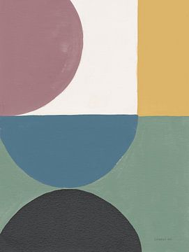 Kleurrijke retro abstract v, Danhui Nai van Wild Apple
