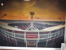 Kundenfoto: Afas Stadion Alkmaar von Mario Calma, auf fototapete