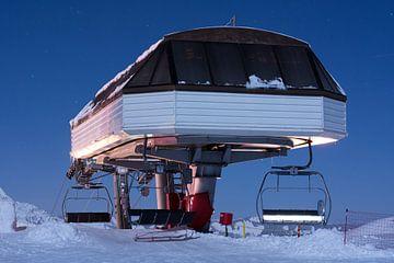 Avoriaz - skilift van Arie-Jan Eelman