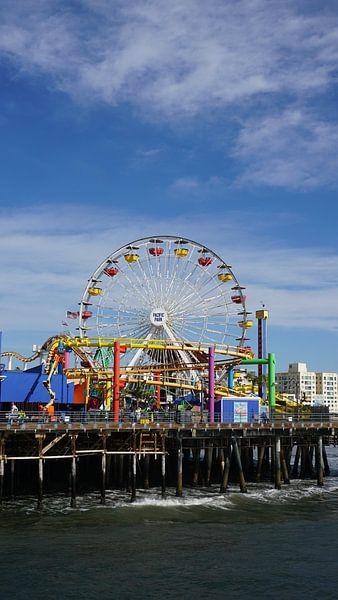 Santa Monica Pier, Los Angeles, USA von Joost Jongeneel