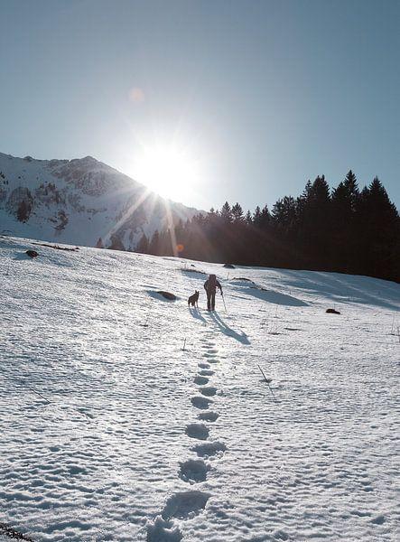 Sneeuwschoenwandelen van Menno Boermans
