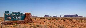 MONUMENT VALLEY & Utah Sign