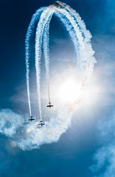 Stuntvliegen van Jeroen Mondria