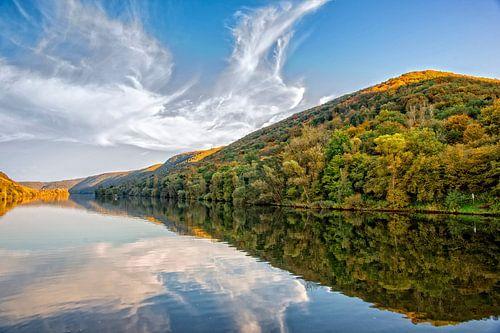 Prachtige herfstkleuren vanaf de Moezel