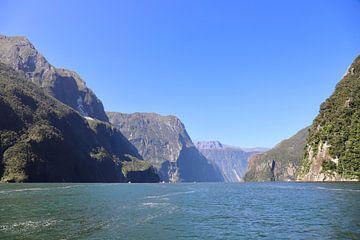 Milford Sound - Fiordland - Nieuw Zeeland van Maurits Simons