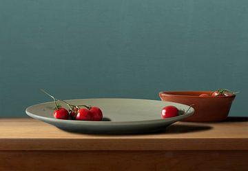 Stilleben mit Tomaten von Marijke van Loon