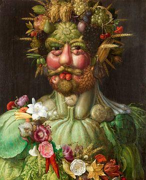 Vertumnus, Giuseppe Arcimboldo von Meesterlijcke Meesters