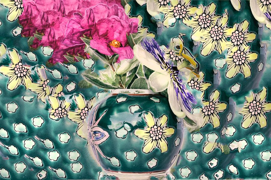 Bouquet style art déco