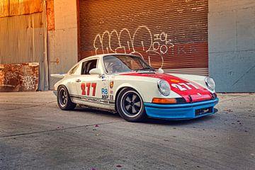 Magnus Walker 277 hot rod Porsche 911 van Maurice van den Tillaard