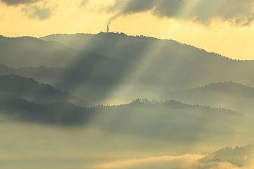 Inversionswetterlage Schauinsland von Patrick Lohmüller