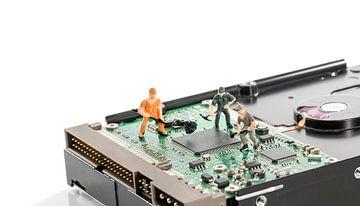 harddisk repare van Compuinfoto .