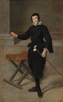 Porträt des Narren Calabazas, Diego Velázquez