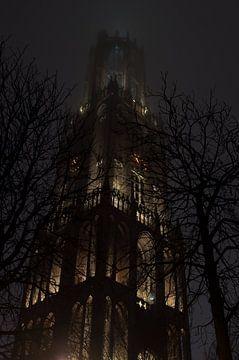 De Domtoren in de mist van Jeroen Knippenberg