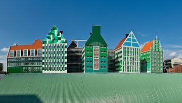 City hall at Zaandam, Holland sur Rene van der Meer