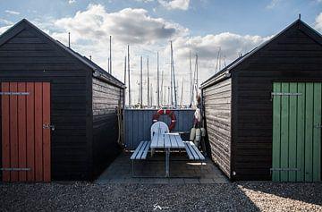 Der Hafen von Årøsund von Sebastiaan Aaldering