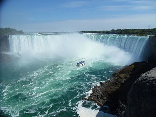 Niagara Wasserfalle Amerikanischen und Horseshoe Falls von Elisabeth Eisbach