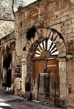 Oude poort in Lecce van