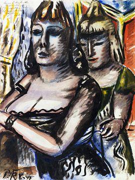 Diva im Zirkus, Paul Kleinschmidt, 1947 von Atelier Liesjes