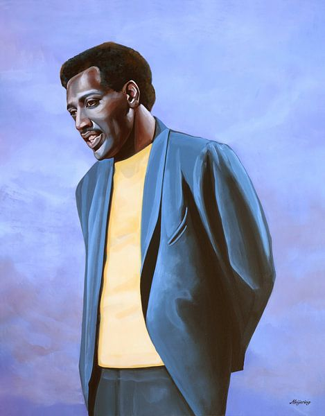 Otis Redding Schilderij van Paul Meijering