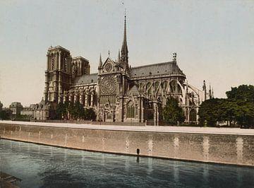 Notre Dame, Paris van Vintage Afbeeldingen