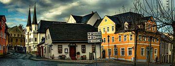 Schneeberg / Erzgebirge von Johnny Flash