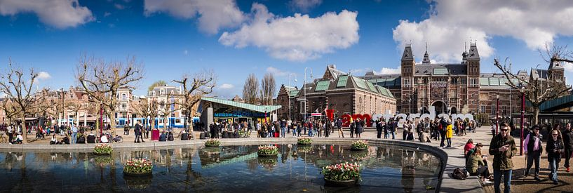 Museumplein panorama van PIX URBAN PHOTOGRAPHY