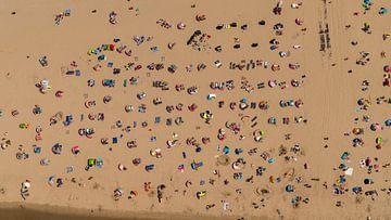 Ganz Holland backt am Meer in Egmond von aerovista luchtfotografie