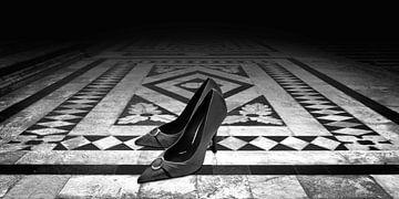 Danse tardive (noir et blanc)
