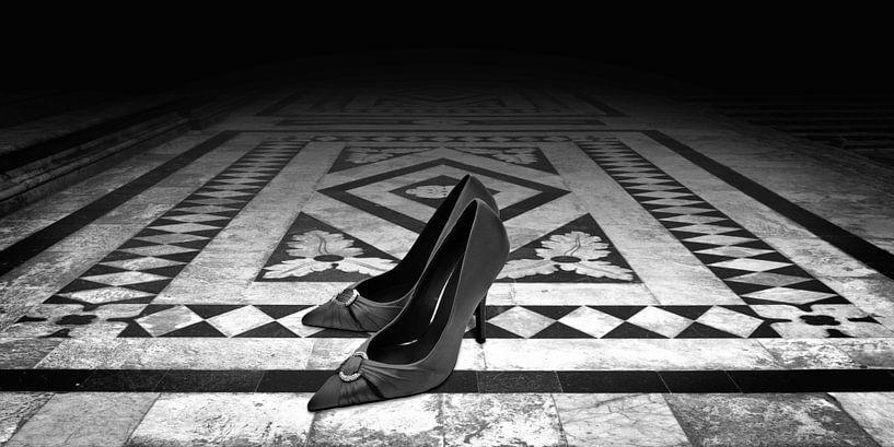 Last Dance (zwart-wit) van Rob Blok