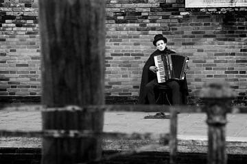 Straatmuzikant van Rudy De Moor