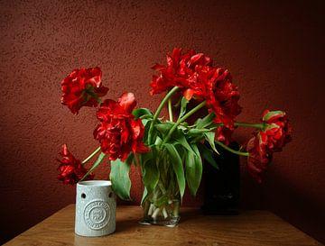 Rote Tulpen von Erik Reijnders