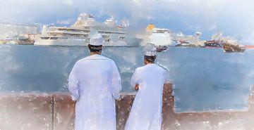 In de haven van Muscat van Frank Heinz