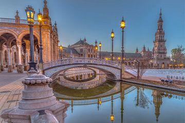 Plaza de Espana Sevilla sur Rene Ladenius