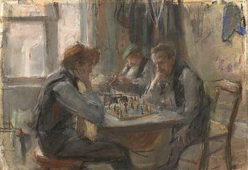 De schaakspelers, Isaac Israels