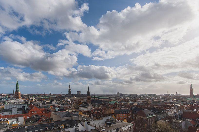 Le ciel de Copenhague en été sur Robin van Maanen