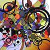 Composition abstraite 130 van Angel Estevez thumbnail